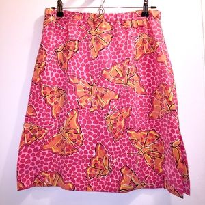 Lilly Pulitzer Butterflies Print size 4